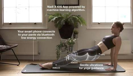Responsive Yoga Leggings - Wearable X is Launching Smart Yoga Pants for Men and a Redesigned App