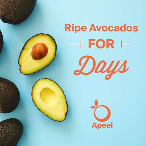 Long-Lasting Avocados - Apeel Sciences is Making Avocados Stay Ripe for Twice as Long