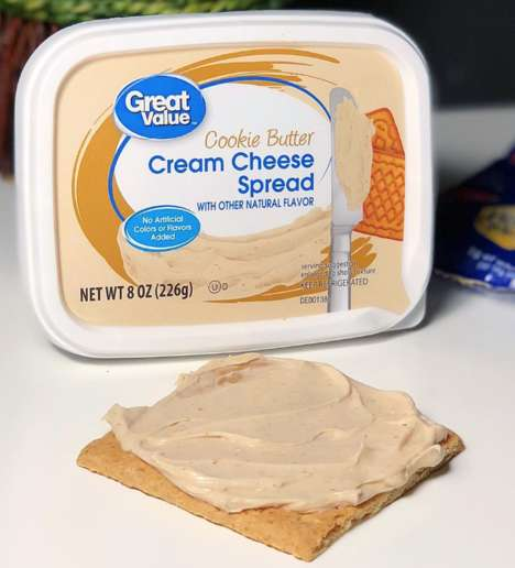 Cookie-Infused Cream Cheeses - Walmart is Selling a Sweet Cookie Butter Cream Cheese Spread