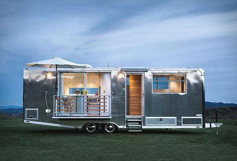 Modern Aluminium Tiny Houses