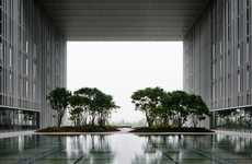 Natural In-House Installations - David Chipperfield Architects Boasts a Nature-Inspired Architecture
