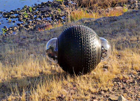 All-Terrain Security Robots - 'GuardBots' Feature a Spherical Design to Tackle Any Landscape