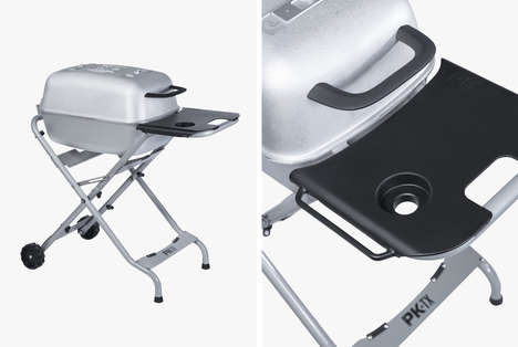 Portable Aluminum Smoker Grills - The New PKTX Grill is a Durable Cooker That Was Made for Mobility