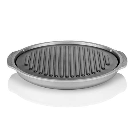 Smoke-Free Indoor Grills - The TeChef 'True Grill Pan' Works on Your Stovetop
