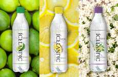 Glacial Sparkling Waters - Icelandic Glacial Adds Flavor to Sparkling Water from the Ölfus Spring