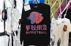 Graphic Clothing Pop-Up Shops - PUMA Basketball & Chinatown's Tee Offerings are Fierce and Limited