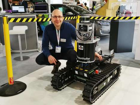 Firefighter-Guiding Robots