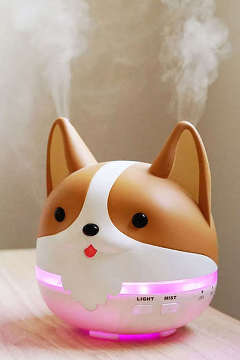Dog-Inspired Youth Accessories - Smoko's New Milo Corgi Collection Offers a Backpack and a Diffuser