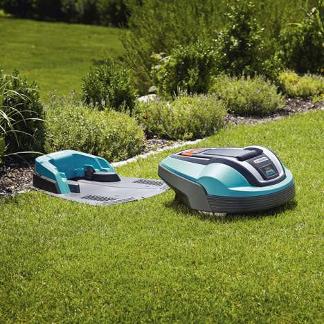 Effortless Lawn-Manicuring Robots