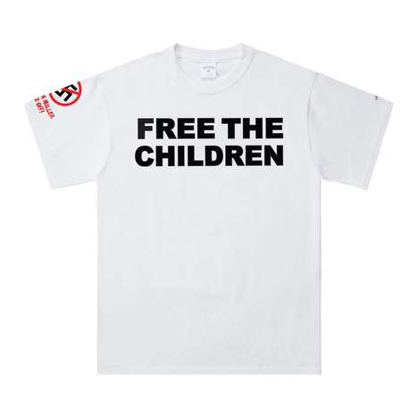 Immigration Aid T-Shirts - NOAH's 'Free the Children' Shirt Benefits Refugees and Immigrants