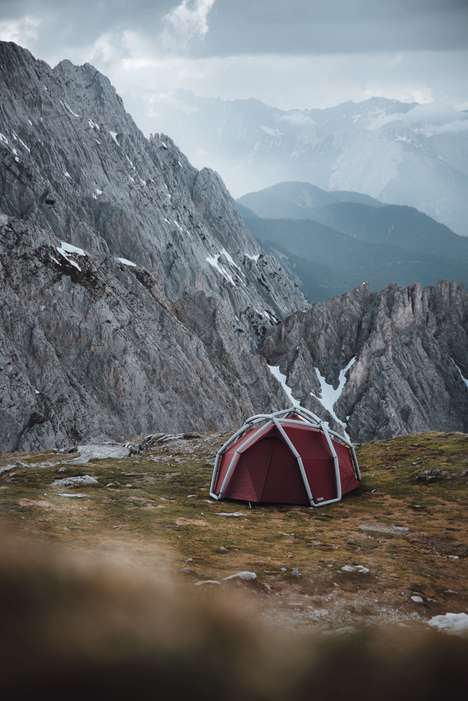 Four-Person Inflatable Tents