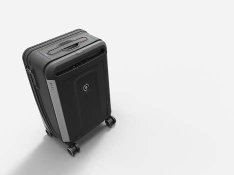 Tech-Savvy Luggage Cases - PLEVO Boasts a Smart Luggage Collection That is Fully Theft-Proof