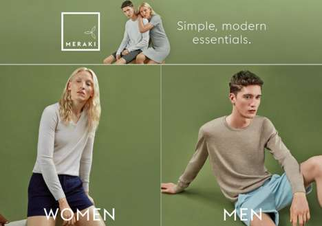 Essential eCommerce Fashion - Amazon's Private-Label 'Meraki' Offers Classic Styles & Quality Fabric