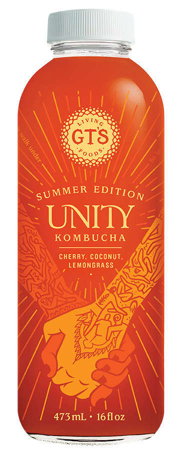 Harmonious Limited-Edition Kombuchas - GT's Special 'Unity' Summer Beverage Comes with a Playlist