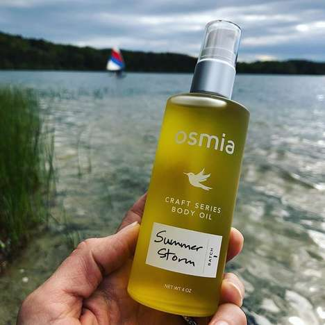 Aromatherapeutic Body Oils - Osmia Organics' Craft Series 'Summer Storm' Boasts Multiple Benefits