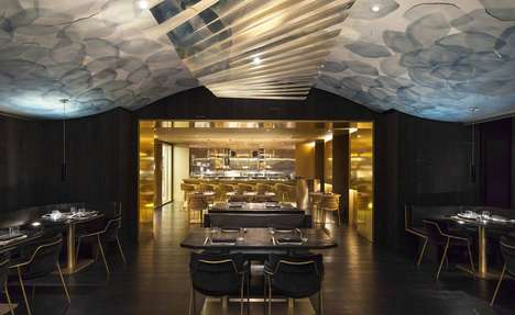 Stylish Marble Restaurants