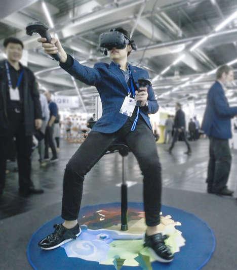 Immersive VR Footwear
