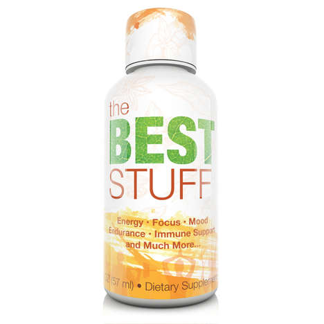 Uplifting Energy Shots - 'The Best Stuff' by Juice Shots Boosts One's Mood and Energy Levels