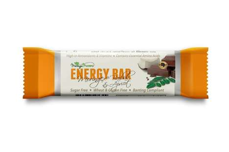 Moringa Energy Bars - Moringa Wellness' Products Share the Benefits of Moringa Without Its Flavor