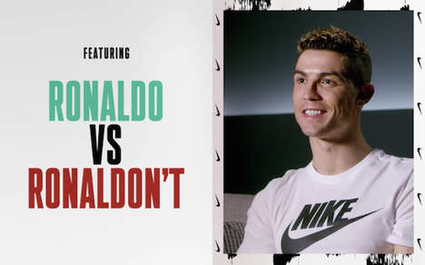Meme-Inspired Animated Campaign Ads - Nike Channels Famous Football Player Ronaldo in Playful Ads