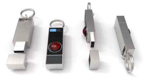 Light-Up Sci-Fi USBs - The HAL Mini USB is Inspired by the Famous Computerized Movie Villain