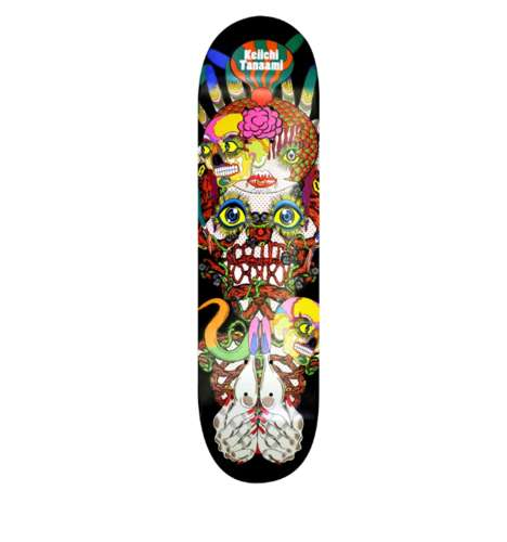 Exclusive Trippy Skateboard Decks