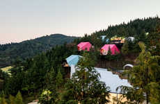 Chromatic Glamping Tents