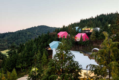 Chromatic Glamping Tents - Atelier Chang Gives a Playful & Whimsical Twist to SJCC Glamping Resort