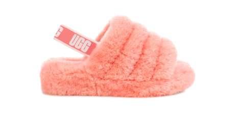 Vibrant Ultra-Fuzzy Sandals