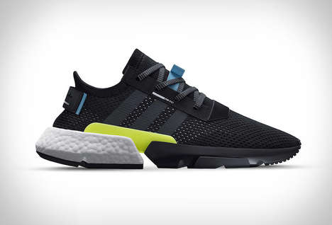 90s Revival Sneakers - The Adidas POD-S 3.1 Boasts Modern Materials with a Retro Design