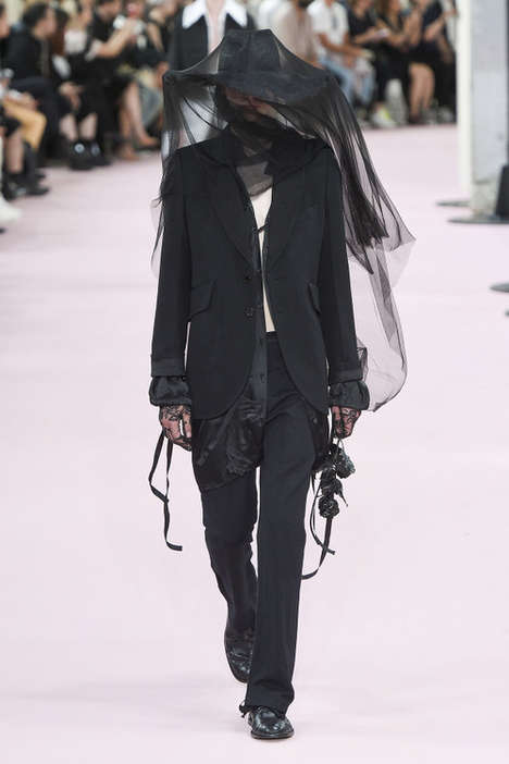 Romantic Goth Fashion Runways