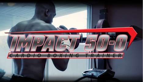 Intensive Training Boxing Treadmills - The 'IMPACT 50-0' Enables a Full-Body Workout