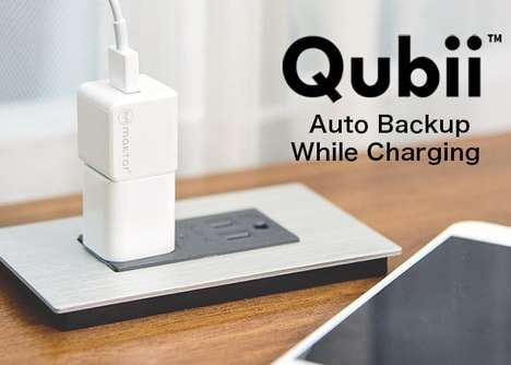 Smartphone Backup Charging Cubes