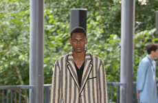 Elegantly Embellished Menswear Runways