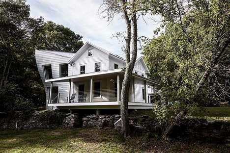 Surrealist Rural Houses