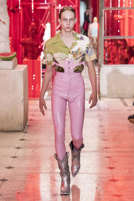 Ultra-Provocative Fashion Runways - Maison Margiela's Spring/Summer 2019 Line is Amazingly Daring