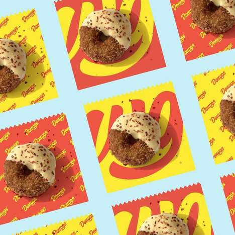Donut-Shaped Chicken Snacks - 'Donugs' are a New Hybrid Indulgence for Foodies to Enjoy