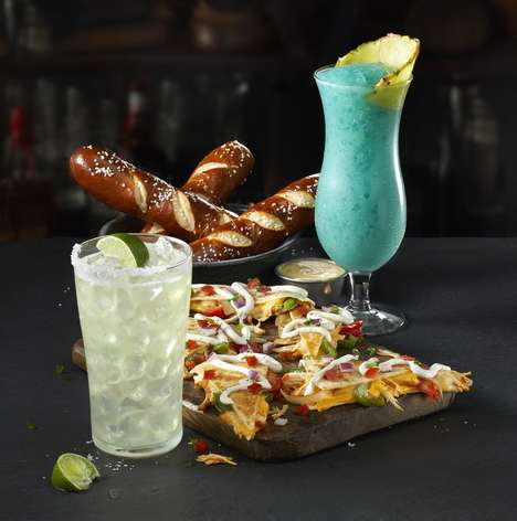 Value-Focused Cocktail Menus - The New TGI Friday's Happy Hour Menu Focuses on a $5 Price Point