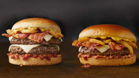 Smokey Bacon Burgers - McDonald's Signature Crafted Lineup Now Includes the Bacon Smokehouse Burger