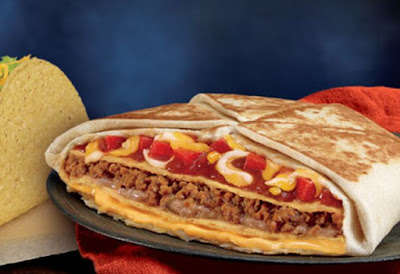 Hybrid Tex-Mex Pizzas - Taco Bell is Testing a New Mexican Pizza Crunchwrap in Oklahoma