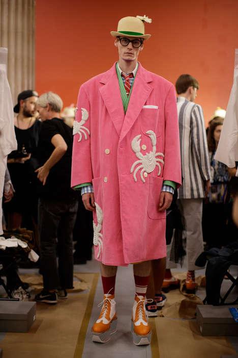 Whimsically Dreamy Fashion Runways