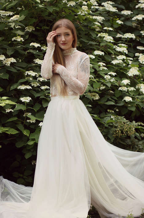 Fair Trade Bridal Collections - Celia Grace Launched a Line of 'Wild Wood' Ethical Wedding Dresses