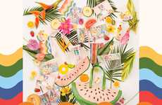 Playful Summer Swag Collections - Ban.do + Starbucks' Collection is a Summery Set of Products