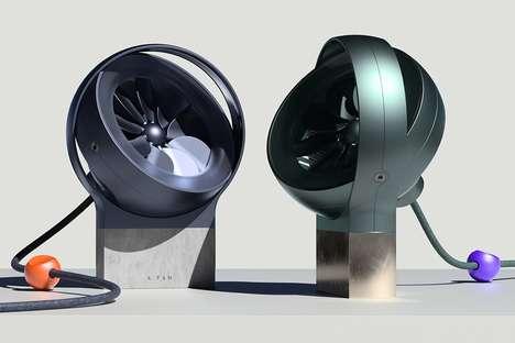 Adjustable Design-Conscious Fans