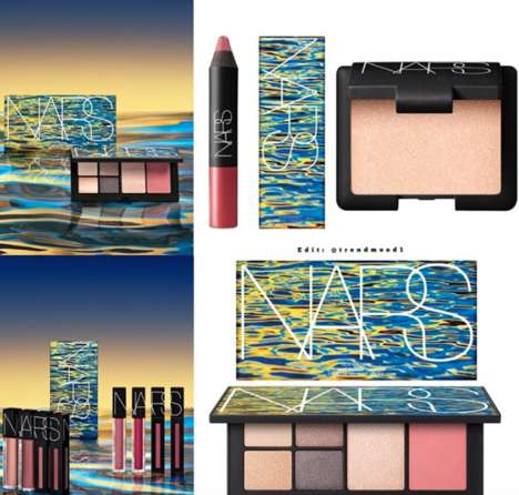 Rosy Summer-Inspired Palettes