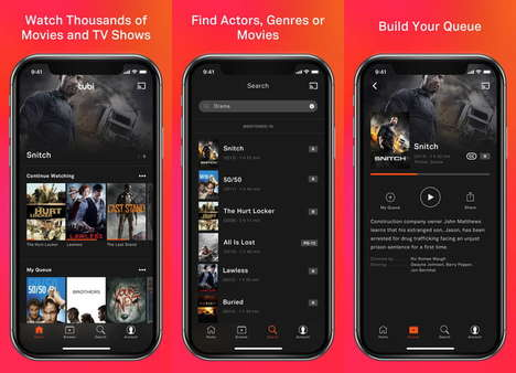 Free Legal Streaming Services - Tubi TV Offers Thousands of Films at No Cost to Users