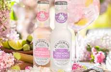 Botanical Cocktail Mixer Sodas - These New Fentimans Tonic Water Flavors are Refreshingly Crisp