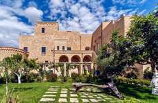 Royal Boutique Hotels - Castello Di Ugento is a Nine-Room Hotel That Formerly Housed Italian Royalty