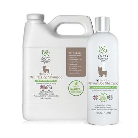 Pest-Repelling Natural Pet Shampoos