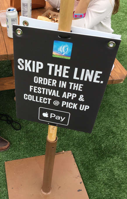 Tap-to-Pay Festival Initiatives
